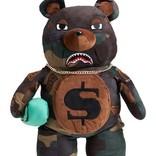 Sprayground Sprayground Teddy Bear Backpack Checks and Camo