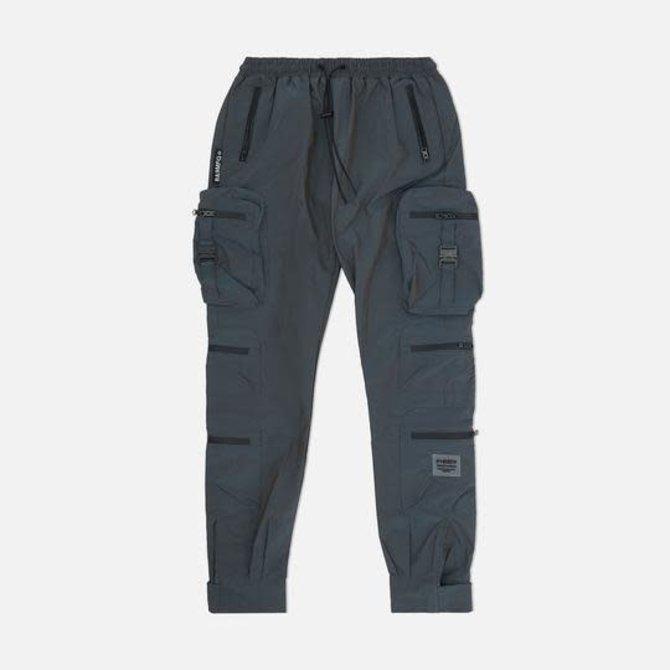 8&9 Combat Nylon Pant Iridescent Steel