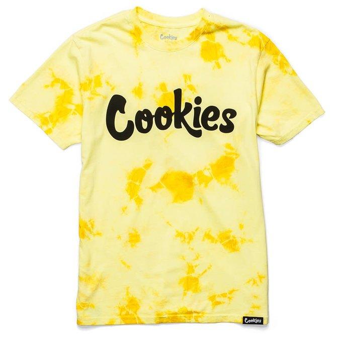 Cookies Cookies Original Mint Crystal Wash Tie Dye Yellow