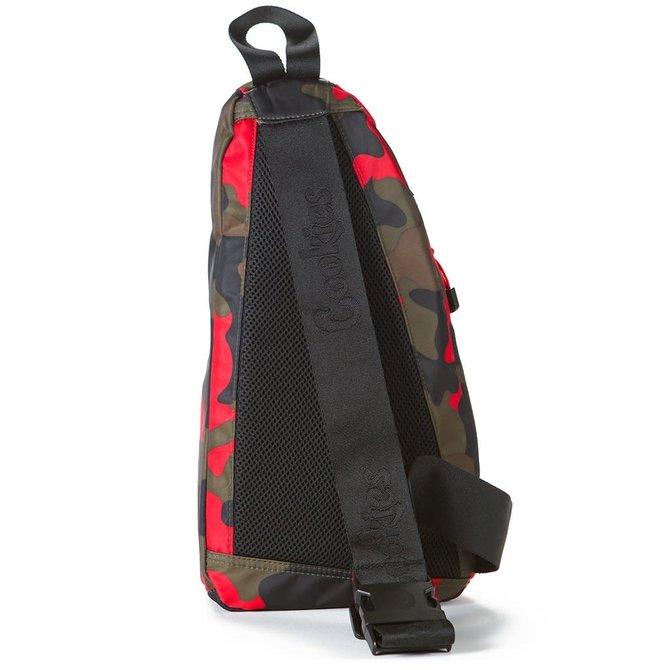 Cookies Cookies Traveler SP Sling Bag Red Camo