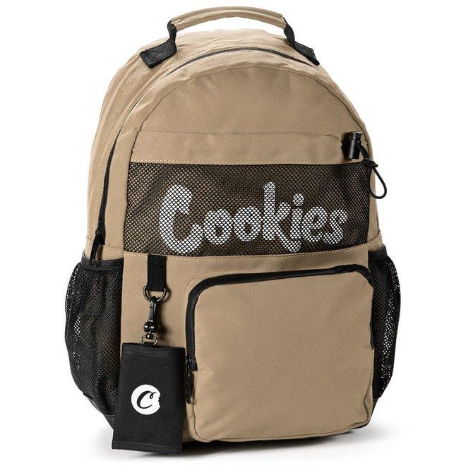 Cookies Cookies SP Stasher Canvas Backpack Tan