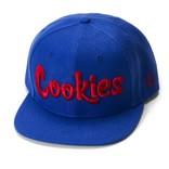 Cookies Cookies Original Mint Snapback Royal Blue/Red