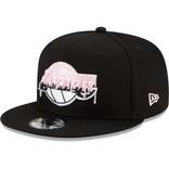 New Era LA Lakers 17x Champs 9Fifty Pink Brim
