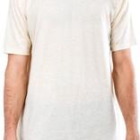 Entity Scallop Hem Scoop Neck Shirt