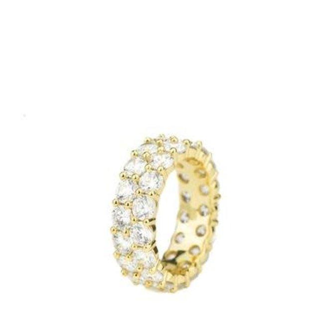 The Gold Gods GoldGods Dual Eternity Ring Gold