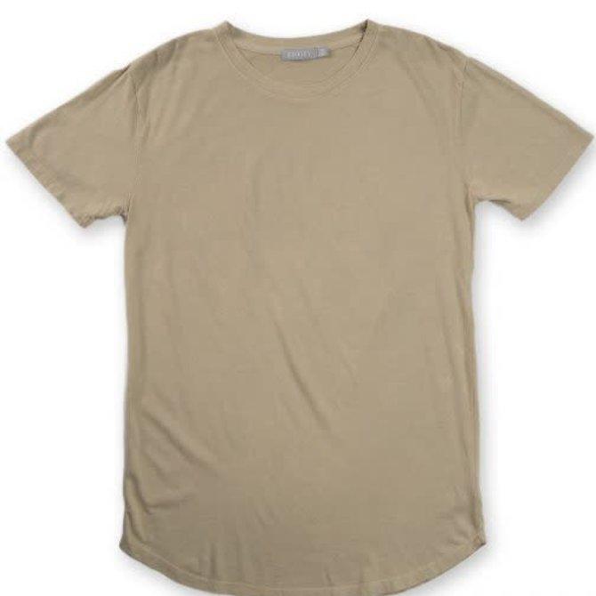Entity Scallop Hem Knit Shirt