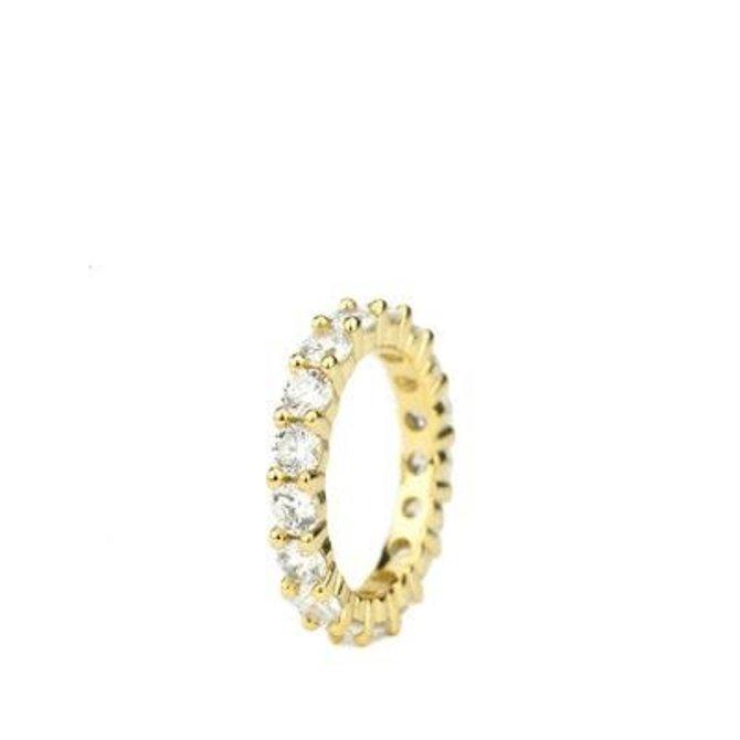 The Gold Gods Goldgods Single Eternity Ring Gold