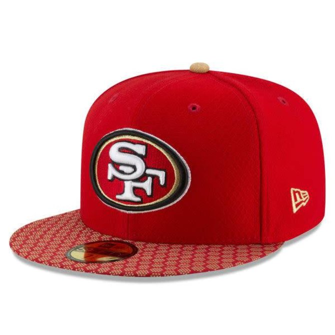New Era SF 49ers Onfield NFL17 Red