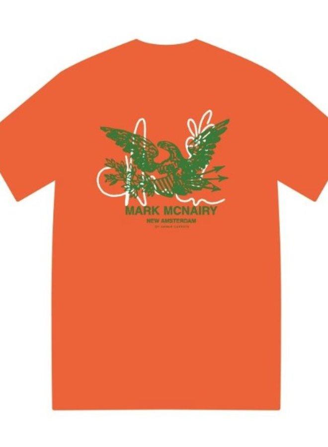 McNairy Logo Tee Orange
