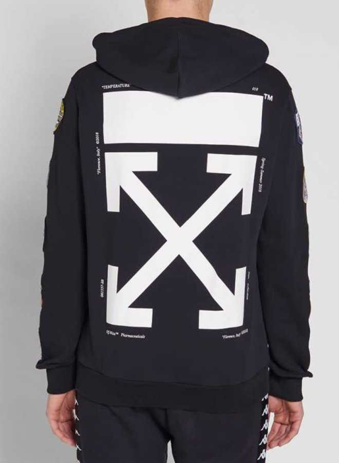 Off-White Patches Hoodie 2XL