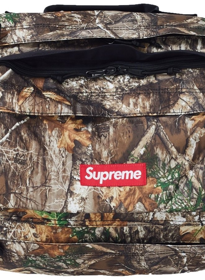 Supreme Duffle Real Tree Camo