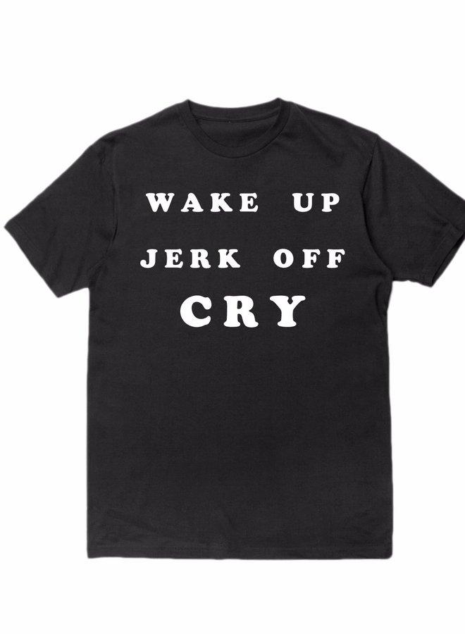 WAKE UP T-SHIRT BLACK