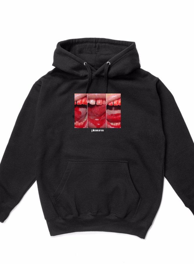 MOUTH OFF HOODY BLACK