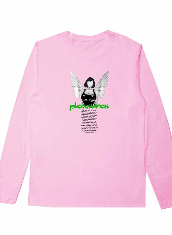 HIGHER LONG SLEEVE PINK
