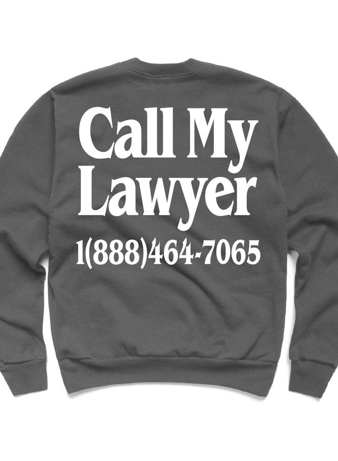 LEGAL SERVICES CREWNECK BLACK