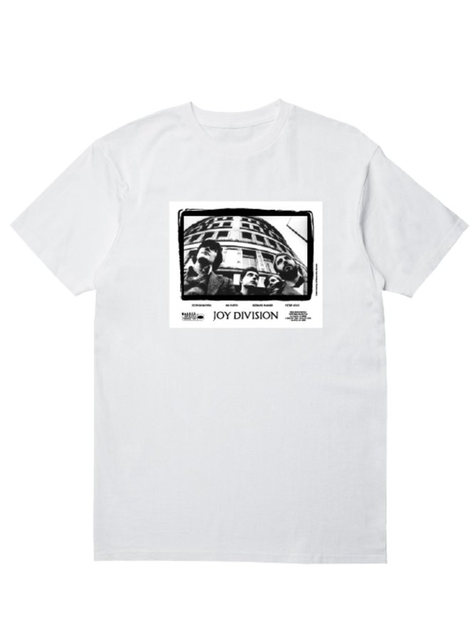 BAND T SHIRT WHITE