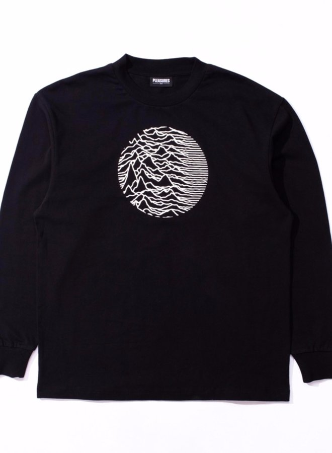 LOST CONTROL EMBROIDERED PREMIUM L/S T-SHIRT