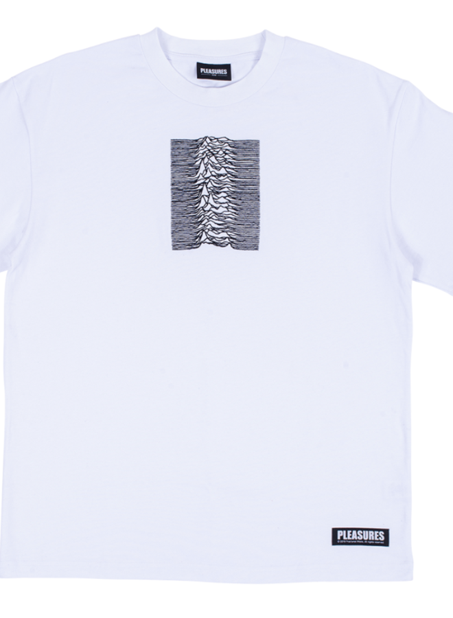 SHADOW PLAY EMBROIDERED PREMIUM WHITE T-SHIRT