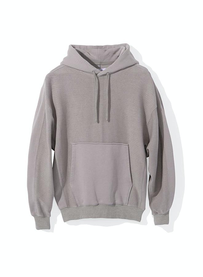 Tonal Pullover Hoodie (GREY)