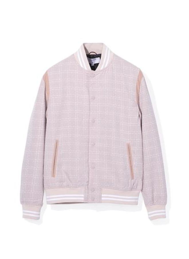 Pink Varsity Jacket