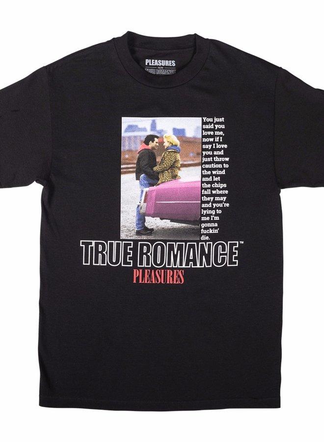 TRUE ROMANCE TRUE LOVE T-SHIRT