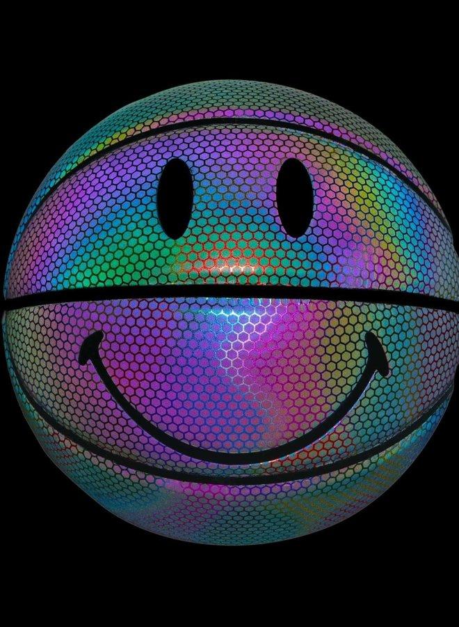 RAINBOW REFLECTIVE SMILEY B-BALL