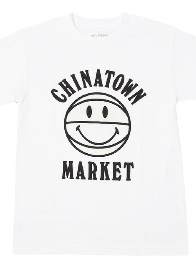 SMILEY UV BBALL TEE