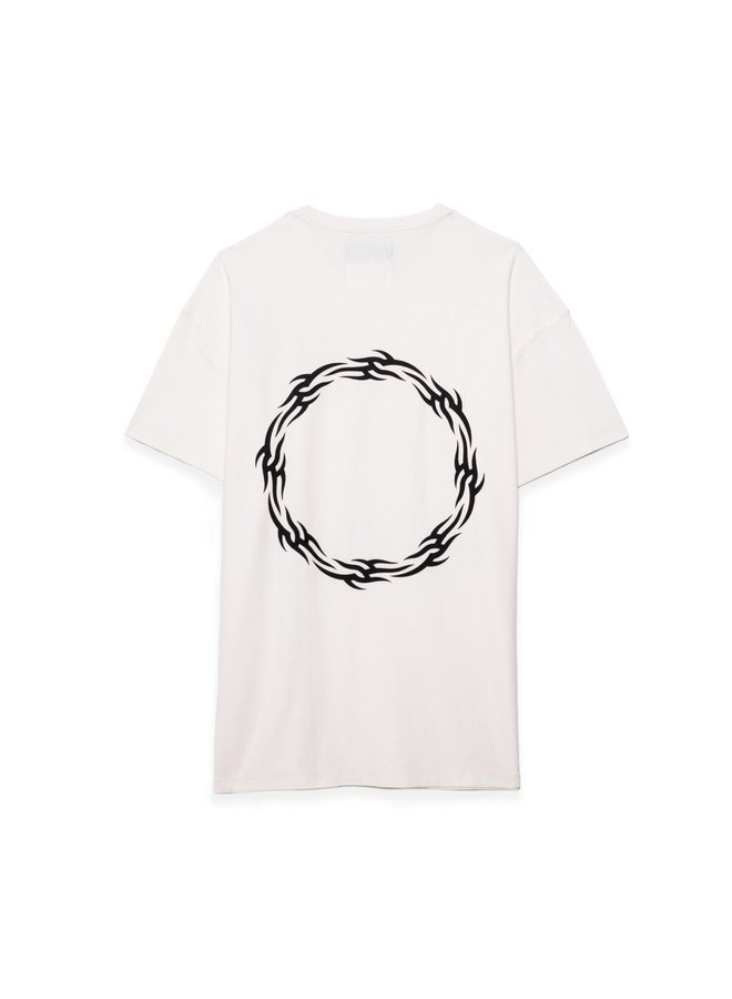 RELAXED TEE - WREATH WHITE
