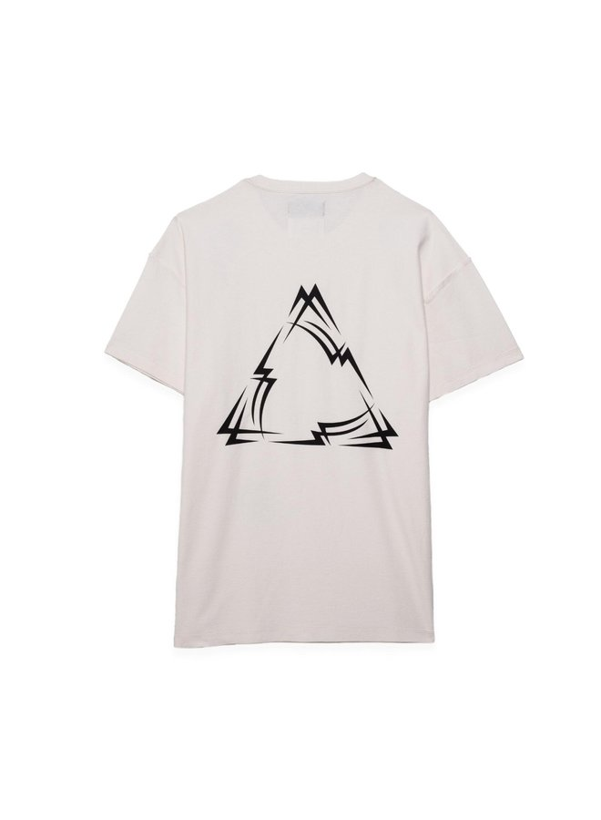 PYRAMID WHITE RELAXED TEE