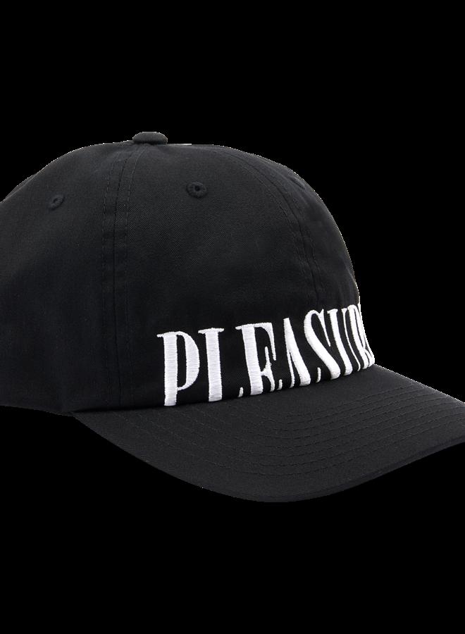 DOME LOW PROFILE SNAPBACK HAT BLACK