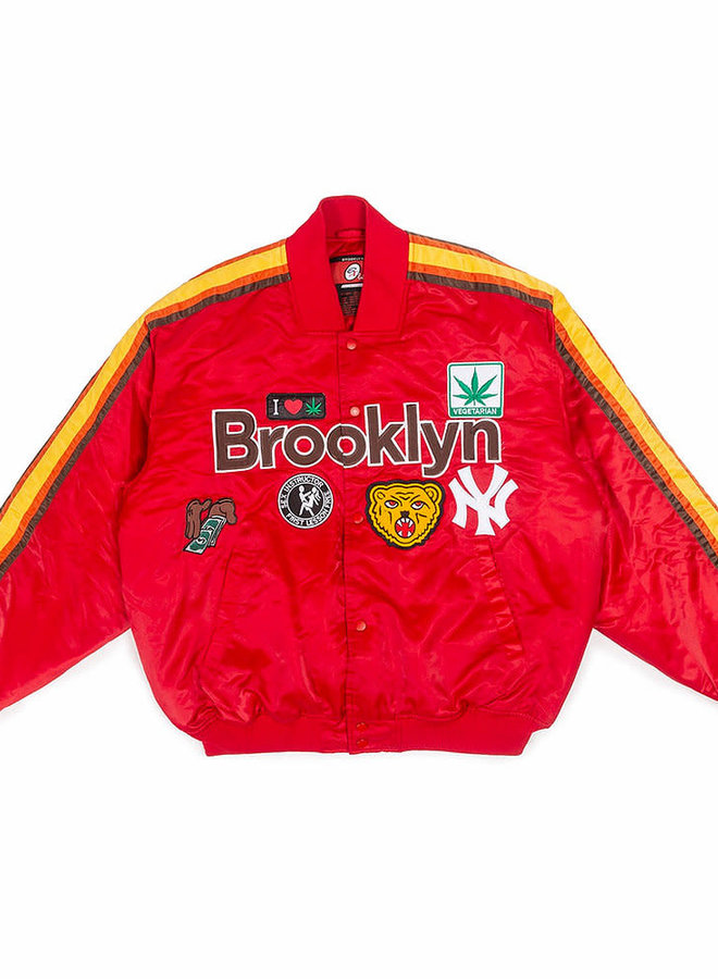 Brooklyn All Star Varsity Jacket (Red)