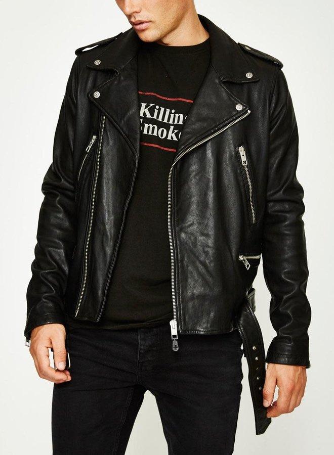 Ksubi Loathing Leather Jacket