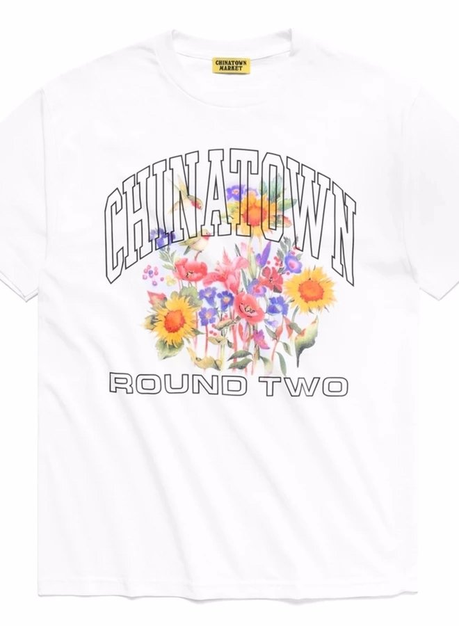 ROUND TWO UV FLOWER T-SHIRT