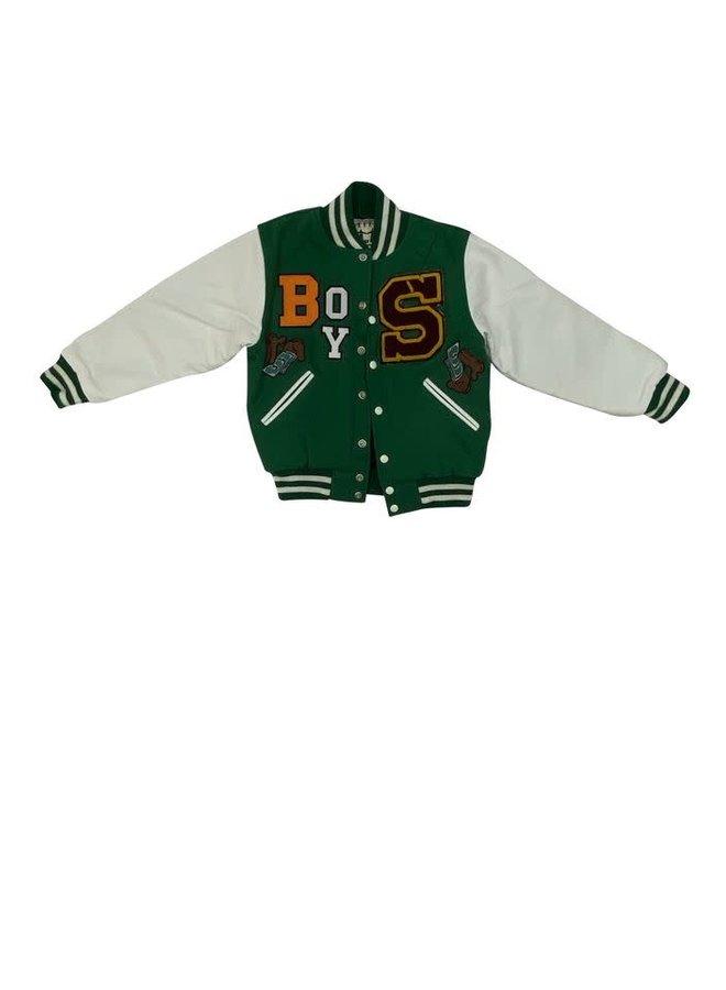 Green Boys Jacket