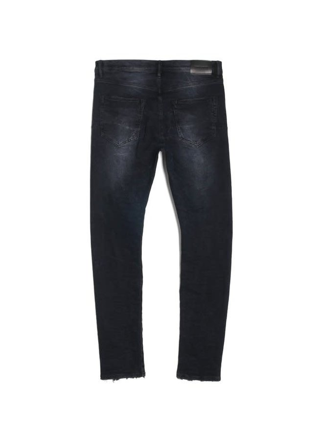 SLIM LEG BLACK WASH