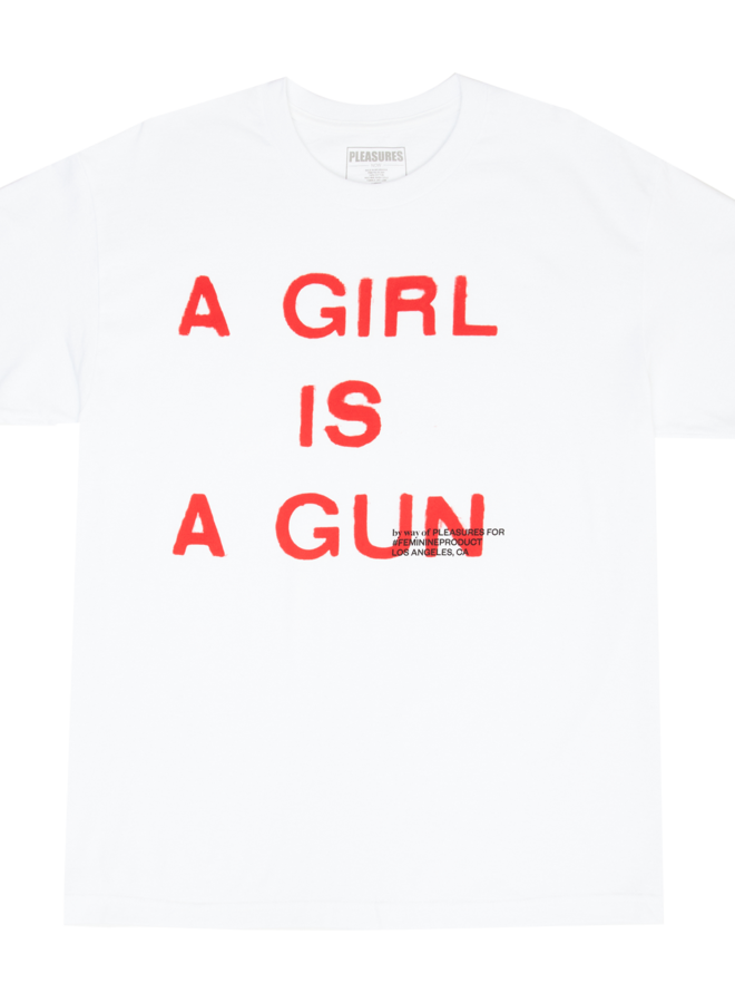 A GIRL IS A GUN (WHITE)