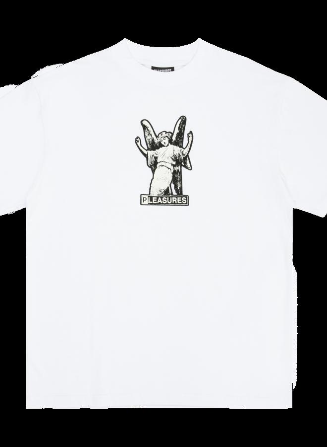 WHITE FETISH HEAVYWEIGHT T-SHIRT