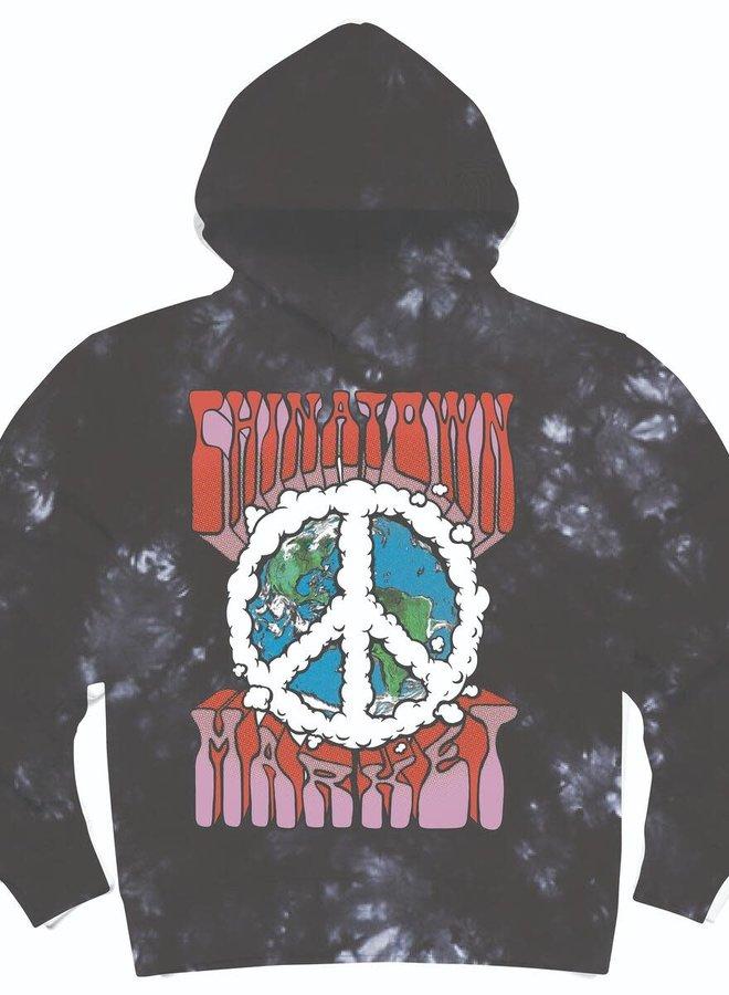 PEACE ON EARTH LOGO HOODIE