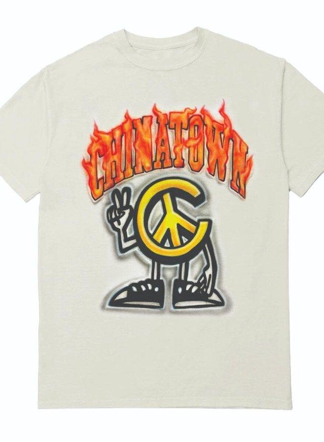 PEACE GUY FLAME ARC T-SHIRT