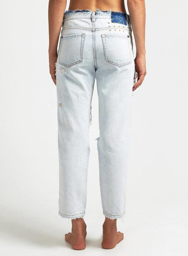 "KSUBI Straight and Narrow Pant ""Bust a Chill"""