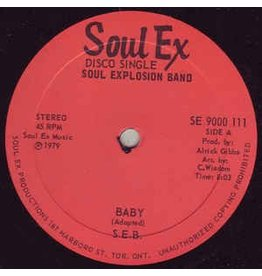 (LP) Soul Explosion Band ‎– Baby / Badly Badly Gone 12""