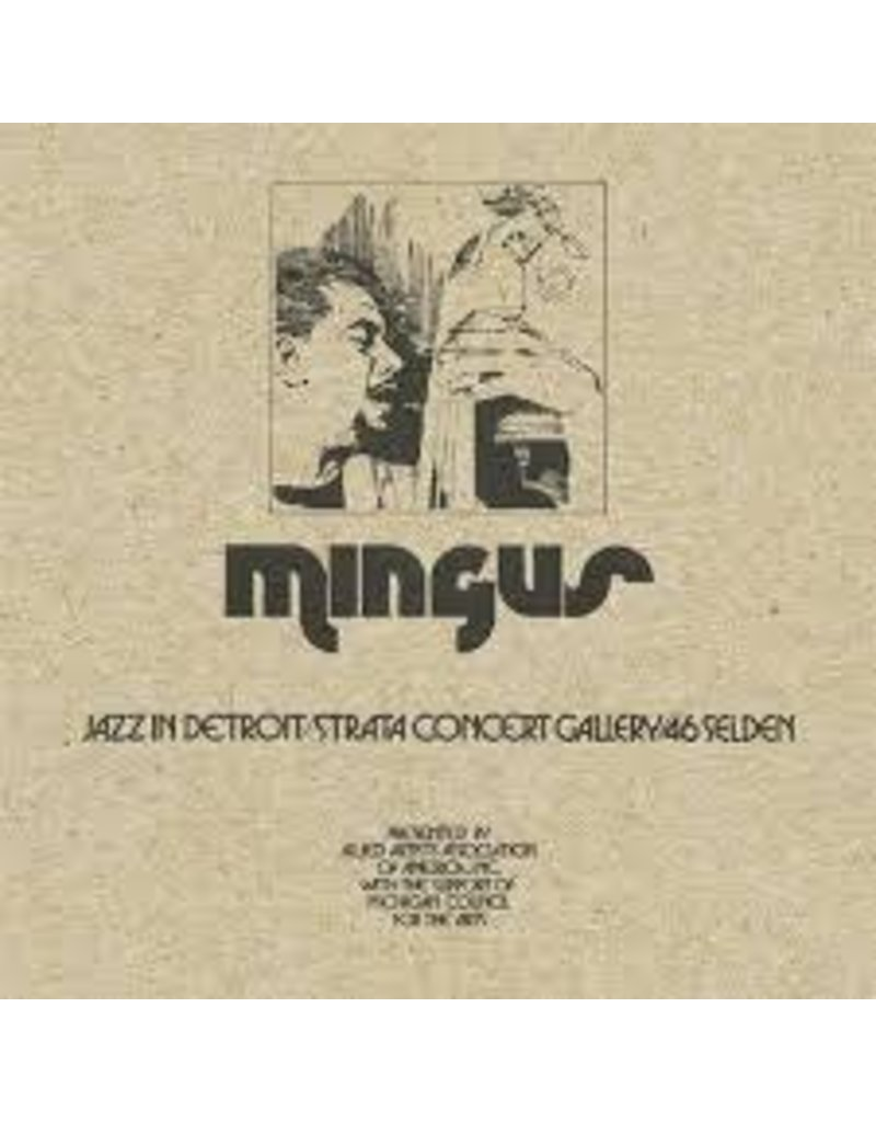(CD) Charles Mingus -  Jazz in Detroit / Strata Conce (5CD)