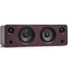 Kanto -  SYD Powered Speaker with Bluetooth® and Phono Preamp, Matte Burgundy
