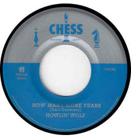 "(LP)	Howlin' Wolf	- How Many More Years/Moanin' At Midnight (7"") BF18"