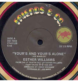 """(Used LP) Ester Williams - Yours and Yours Alone (12"""") (LL) 568"""