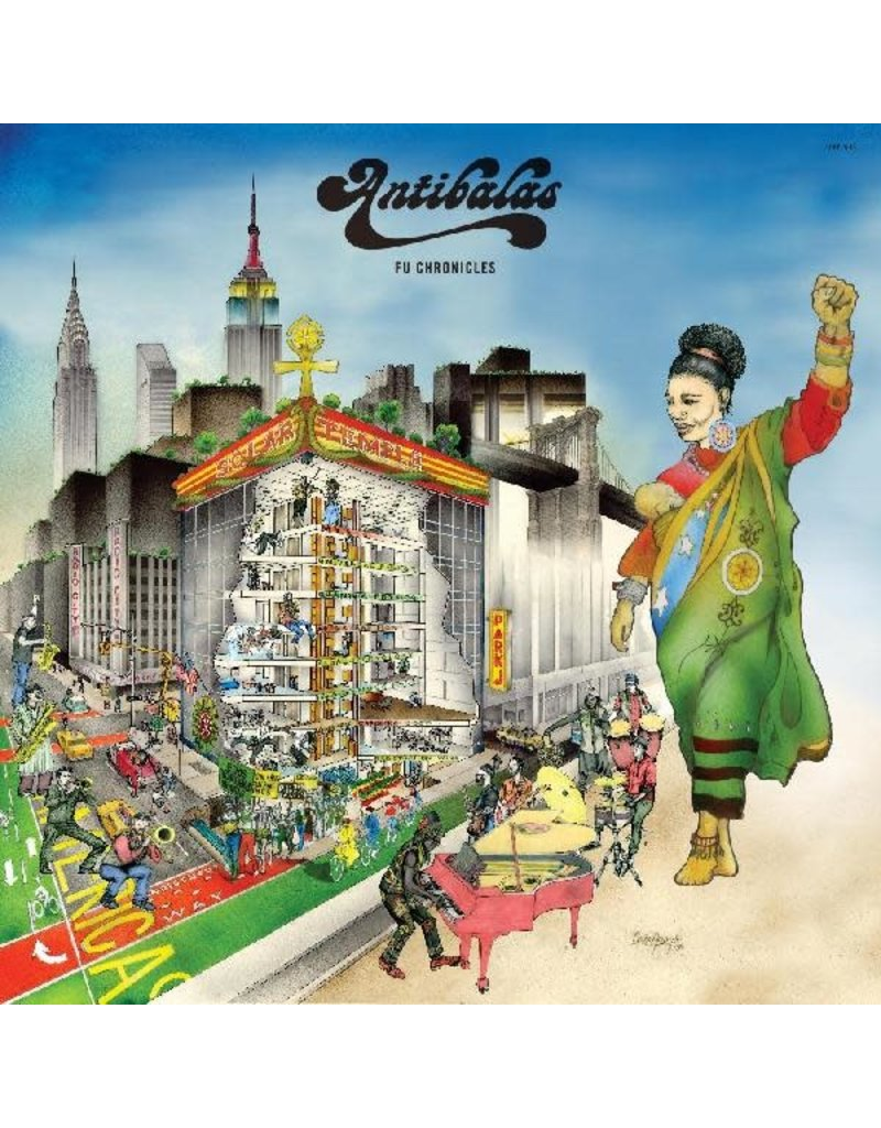 (CD) Antibalas - Fu Chronicles