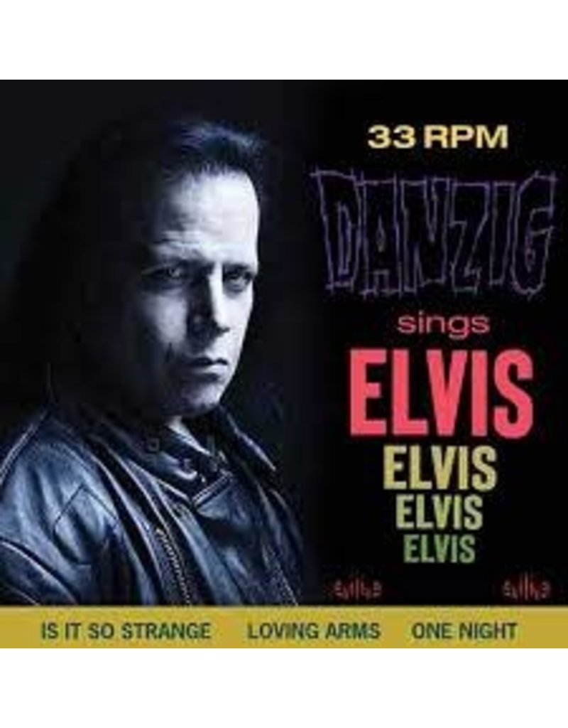 (CD) Danzig - Sings Elvis