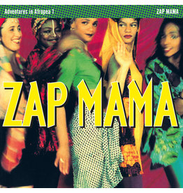 (LP) Zap Mama - Adventures In Afropea (MAGENTA SPLATTER) RSD20