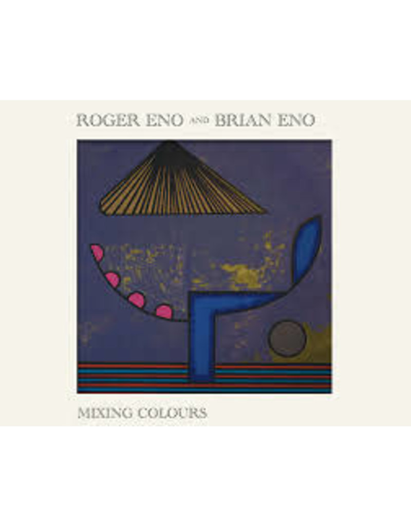 (CD) Brian and Roger Eno - Mixing Colours