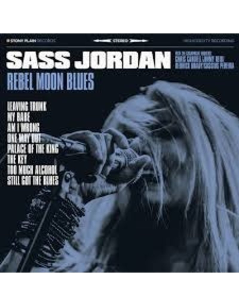 (CD) Sass Jordan - Rebel Moon Blues